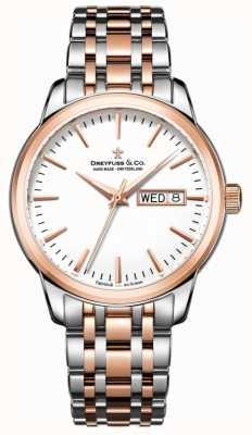 Dreyfuss Mens Watch utilitaristica 1890 DGB00127/02