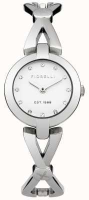 Fiorelli Womens quadrante Bracciale in argento FO003SM
