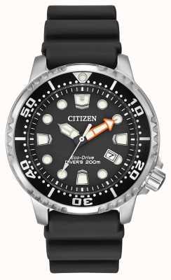 Citizen cinturino in caucciù nero Eco-Drive Promaster subacqueo BN0150-28E