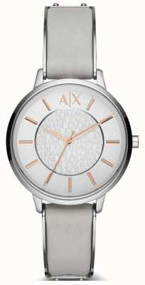 Armani Exchange Ladies Watch cinturino in pelle olivia AX5311