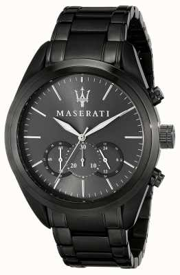 Maserati Traguardo 45mm chrono ip gunmetal R8873612002