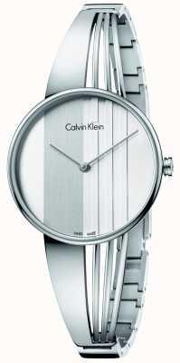 Calvin Klein Womens deriva quadrante argento K6S2N116