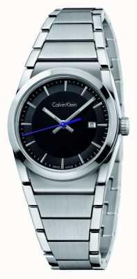 Calvin Klein passo Mens quadrante nero K6K31143