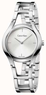 Calvin Klein argento placcato classe Womens K6R23126