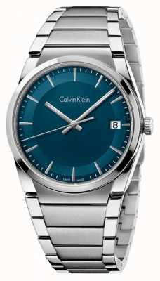 Calvin Klein quadrante passo alzavola Mens K6K3114L