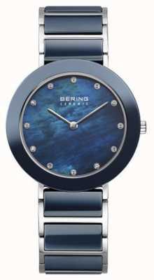 Bering Womans marina metallo quadrante cinturino marina 11435-787