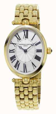 Frederique Constant Classici art deco donne placcato oro giallo di madreperla FC-200MPW2V5B