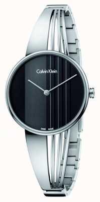 Calvin Klein orologio Drift con quadrante nero K6S2N111