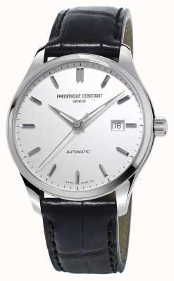 Frederique Constant Mens indice classici cinturino in pelle nera automatica FC-303S5B6