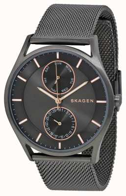 Skagen Mens Holst pistola in metallo placcato PVD SKW6180