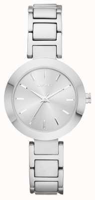 DKNY quadrante silver cinturino in argento Womans NY2398