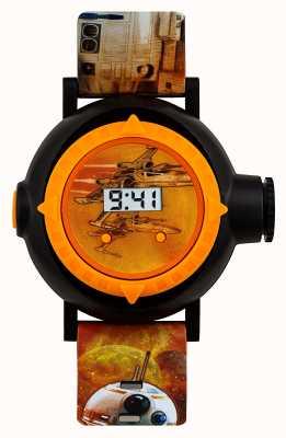 Star Wars orologio proiettore BB8 10 immagini SWM3116