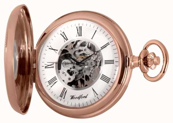 Woodford | mezzo cacciatore | oro rosa | orologio da tasca | 1092