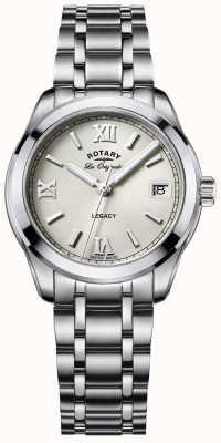 Rotary Womens les originales eredità in acciaio inox LB90173/06