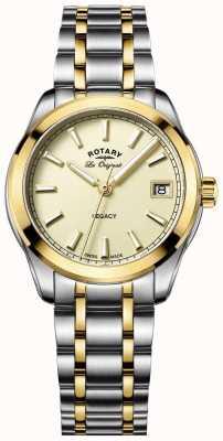 Rotary Womens les originales eredità di due toni LB90174/03