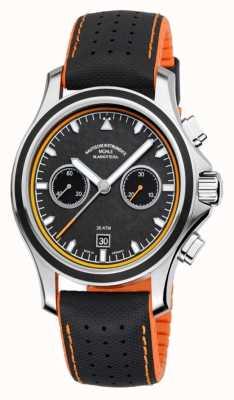 Muhle Glashutte Promuovi cronografo in carbonio con cinturino sintetico M1-42-04-NB