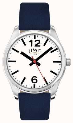 Limit Quadrante bianco blu cinturino uomo 5627.01