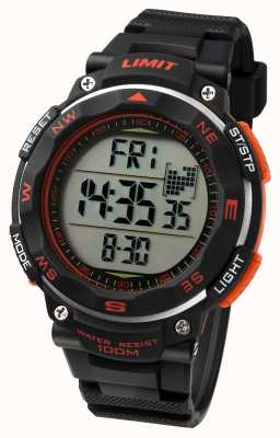 Limit Cinturino nero in orologi sportivi uomo 5485.01