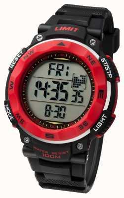 Limit Cinturino nero in orologi sportivi uomo 5486.01