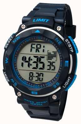 Limit Cinturino nero in orologi sportivi uomo 5487.01