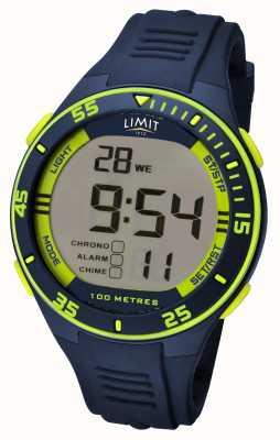 Limit Quadrante digitale della cinghia navy 5574.24