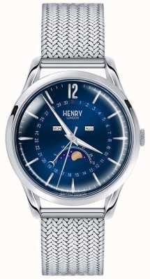 Henry London fase lunare Uomo Acciaio HL39-LM-0085