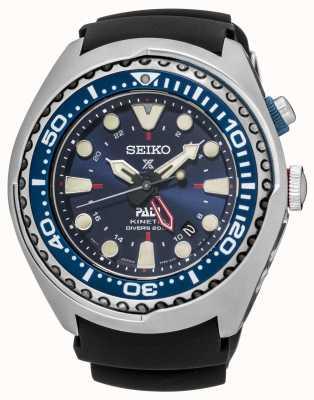 Seiko Prospex PADI edizione speciale certificato GMT cinetica SUN065P1