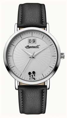 Disney By Ingersoll Womens union il cinturino in pelle nera disney ID00501