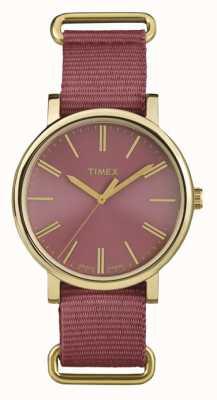 Timex Misto rose dial rosa cinturino di tessuto TW2P78200