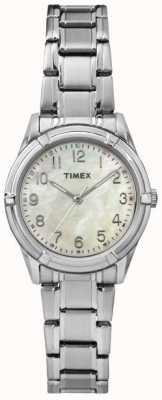 Timex Womans easton viale cinturino in acciaio quadrante in madreperla TW2P76000