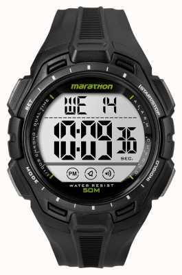 Timex Uomo di ferro nero allarme maratona TW5K94800