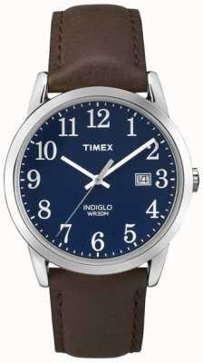 Timex Mens quadrante blu Easy Reader TW2P75900