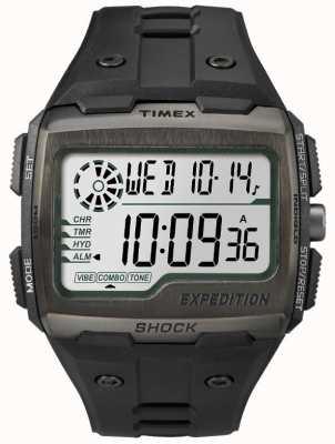 Timex Orologi di allarme scossa griglia tutto nero TW4B02500