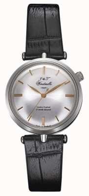 J&T Windmills Womans Threadneedle rosa d'argento orologio meccanico oro WLS10001/06