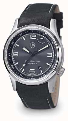 Elliot Brown Quadrante nero tyneham con quadrante nero 305-D05-L15
