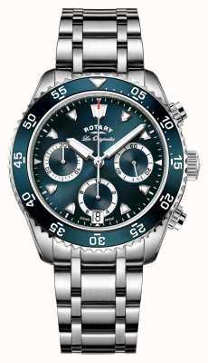 Rotary Cronografo da immersione legacy realizzato da uomo svizzero GB90170/05
