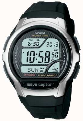 Casio Mens Waveceptor radiocontrollato allarme WV-58U-1AVES