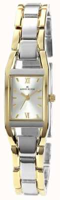 Anne Klein Quadrante argento braccialetto a due toni 10/N6419SVTT
