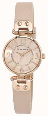 Anne Klein Caso di tono in oro rosa della cinghia di cuoio delle donne 10/N9442RGLP