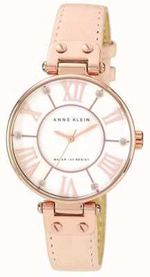 Anne Klein Quadrante della crema di cuoio rosa delle donne 10/N9918RGLP