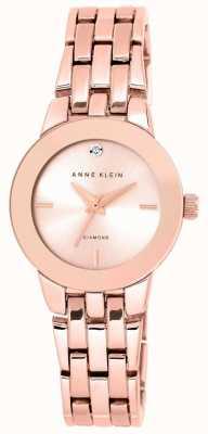Anne Klein Quadrante oro rosa braccialetto di oro rosa delle donne AK/N1930RGRG