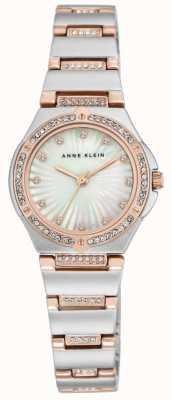 Anne Klein Quadrante della madre del braccialetto di due braccialetti delle donne AK/N2417MPRT