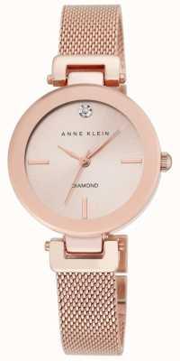 Anne Klein Quadrante oro rosa in oro rosa donna AK/N2472RGRG