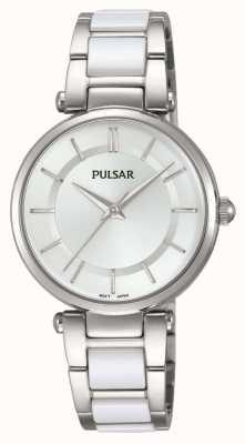 Pulsar Acciaio inossidabile di Womans e orologio bianco PH8191X1