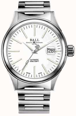 Ball Watch Company Braccialetto auto in acciaio inossidabile auto d'impresa uomo d'affari NM2188C-S5J-WH