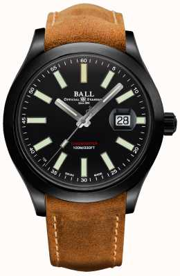 Ball Watch Company Cassa in carburo di titanio automatico Engineer ii con berretti verdi NM2028C-L4CJ-BK