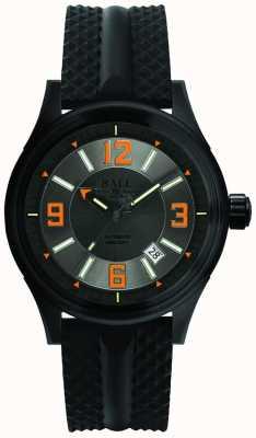 Ball Watch Company Disco grigio automatico cinghia di gomma del datore di corsa del fuoco NM3098C-P1J-GYOR