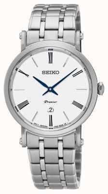 Seiko Womens premier vetro zaffiro acciaio inox SXB429P1