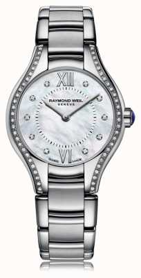 Raymond Weil Womans Noemia 62 diamanti quadrante in madreperla 5124-STS-00985