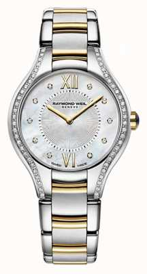 Raymond Weil Womans due toni Noemia 62 diamante madreperla 5124-SPS-00985